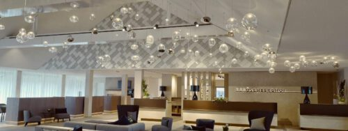 INDUL linear diffusers installed at the Öschberghof resort