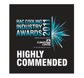 RAC Cooling Industry Awards 2001
