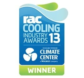 RAC Cooling Industry Awards 2013