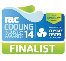 RAC Cooling Industry Awards 2014